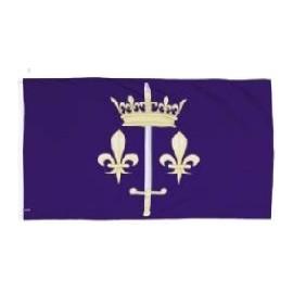 Drapeau Jeanne d'Arc taille XL