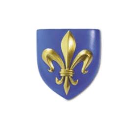 magnet 1 fleur de lys blason France
