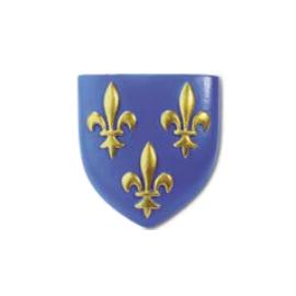 magnet 3 fleurs de lys - blason France