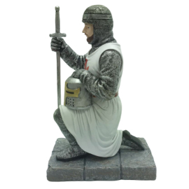 chevalier templier agenouillé