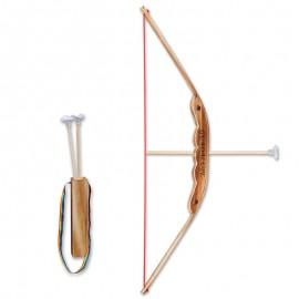 arc bambou et flèches ventouses