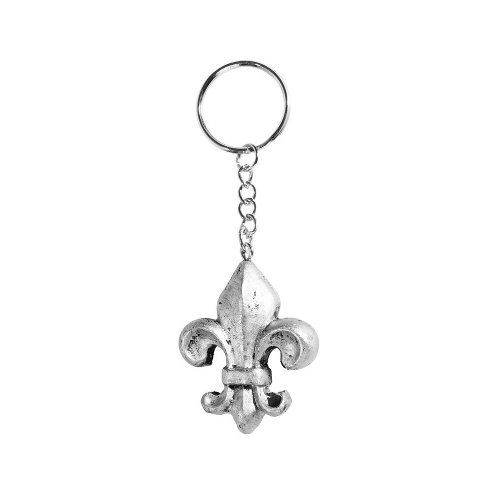 porte clé fleurs de lys