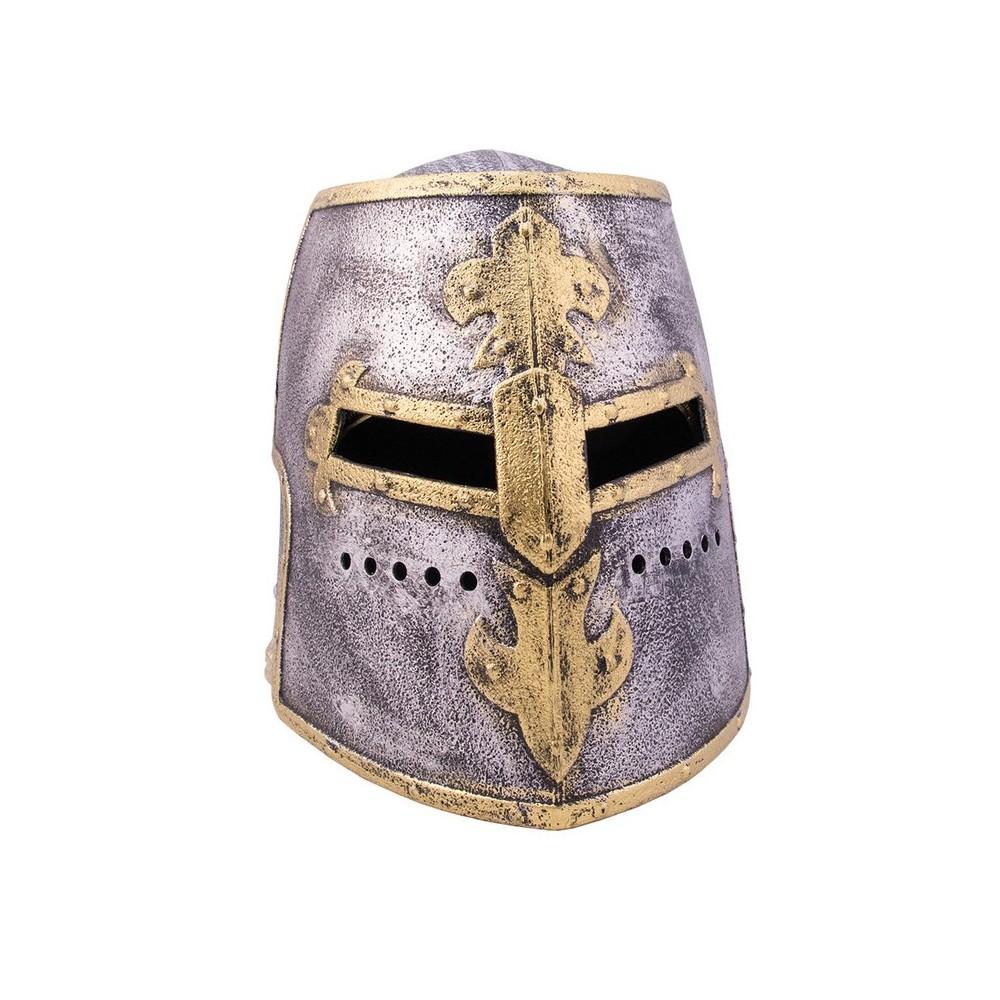 casque imitation metal templier