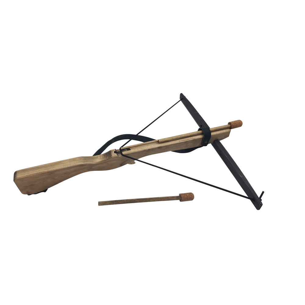 Arbalète en bois vielli