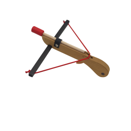 Arbalète en bois