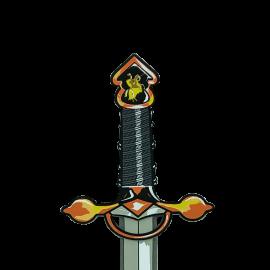 Zoom sur la garde de notre épée