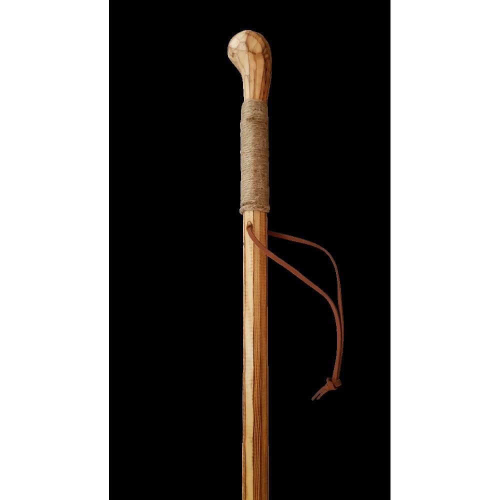 Bâton de marche en Bois Naturel -120 cm