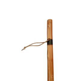 Bâton de marche  verni  - 110 cm