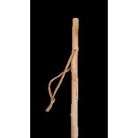 Bâton de marche en bois naturel - 110 cm