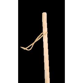 Bâton de marche en bois naturel - 130 cm