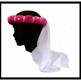 Présentoir tête en pratique avec une coiffe