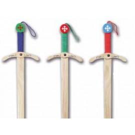 """Epée 55cm """"épée Templier colorée"""""""