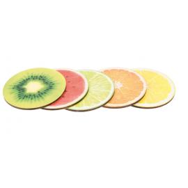 Sous-verres Fruits