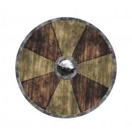 Bouclier Viking en bois 40cm